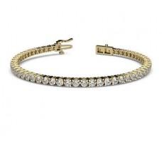 Natural Diamond Bracelets 4.56 CT / 11.18 gm Gold