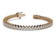 Natural Diamond Bracelets 6.00 CT / 14.35 gm Gold