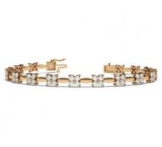 Natural Diamond Bracelets 2.88 CT / 13.67 gm Gold