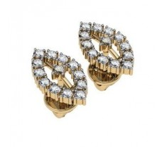 Diamond Earrings 0.52 CT / 3.9 gm Gold