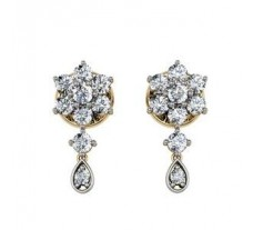 Diamond Earrings 0.42 CT / 3.47 gm Gold
