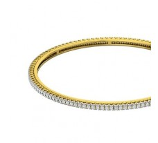 Natural Diamond Bangles 1.84 CT / 13.25 gm Gold