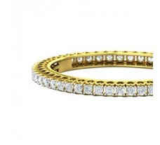 Natural Diamond Bangles 12.50 CT / 38.00 gm Gold