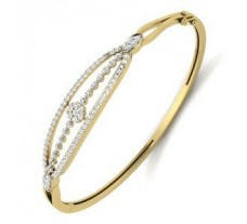 Natural Diamond Bracelet 1.33 CT / 18.00 gm Gold