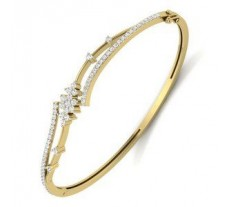 Natural Diamond Bracelet 0.97 CT / 15.00 gm Gold