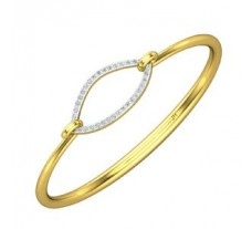 Natural Diamond Bracelet 0.51 CT / 7.15 gm Gold