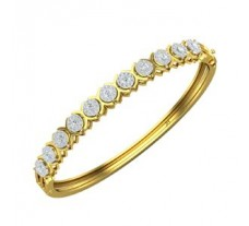 Natural Diamond Bracelets 1.65 CT / 15.00 gm Gold