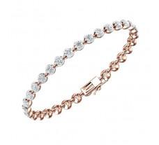 Natural Diamond Bracelets 4.03 CT / 9.70 gm Gold