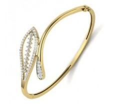 Natural Diamond Bracelet 0.91 CT / 12.50 gm Gold