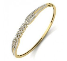 Natural Diamond Bracelet 1.47 CT / 15.00 gm Gold