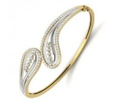 Natural Diamond Bracelet 1.53 CT / 18.00 gm Gold
