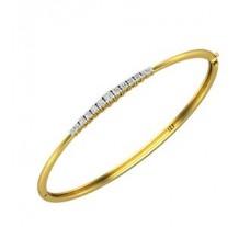 Natural Diamond Bracelets 0.36 CT / 8.00 gm Gold
