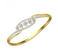 Natural Diamond Bracelet 0.83 CT / 9.80 gm Gold