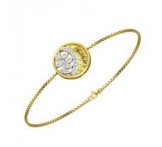 Natural Diamond Bracelet 0.29 CT / 5.25 gm Gold