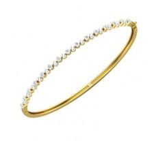 Natural Diamond Bracelets 0.30 CT / 6.00 gm Gold
