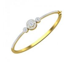 Natural Diamond Bracelets 1.32 CT / 11.40 gm Gold