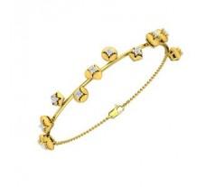 Natural Diamond Bracelets 0.63 CT / 9.00 gm Gold