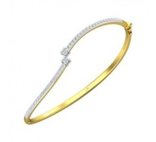 Natural Diamond Bracelets 0.72 CT / 8.94 gm Gold