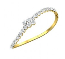 Natural Diamond Bracelets 1.84 CT / 16.80 gm Gold