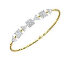 Natural Diamond Bracelets 1.50 CT / 5.51 gm Gold