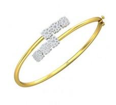 Natural Diamond Bracelets 0.93 CT / 13.11 gm Gold