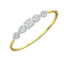 Natural Diamond Bracelets 0.88 CT / 9.93 gm Gold