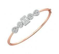 Natural Diamond Bracelets 0.84 CT / 9.43 gm Gold