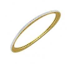 Natural Diamond Bracelets 2.61 CT / 12.94 gm Gold