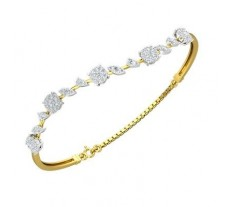 Diamond Bracelets 0.98 CT / 6.93 gm Gold