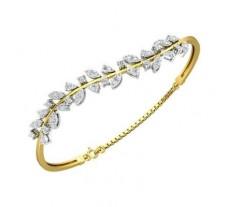 Natural Diamond Bracelets 1.20 CT / 10.02 gm Gold