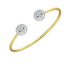 Natural Diamond Bracelets 0.71 CT / 5.44 gm Gold