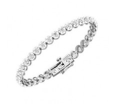 Natural Diamond Bracelets 3.30 CT / 15.55 gm Gold