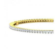 Natural Diamond Bangles 3.52 CT / 18.00 gm Gold