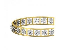 Natural Diamond Bangles 2.52 CT / 20.01  gm Gold