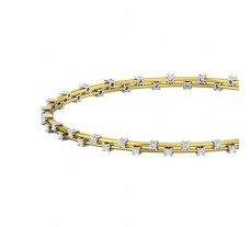 Diamond Bangles 1.04 CT / 8.86  gm Gold