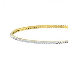Natural Diamond Bangles 1.14 CT / 7.49  gm Gold