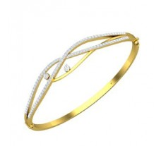 Natural Diamond Bracelet 0.97 CT / 12.50 gm Gold