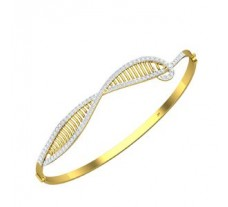 Natural Diamond Bracelet 0.82 CT / 12.35 gm Gold