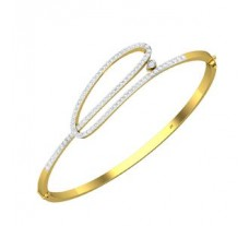 Natural Diamond Bracelet 0.81 CT / 11.61 gm Gold