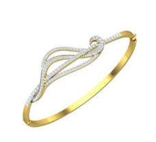 Natural Diamond Bracelet 1.01 CT / 14.64 gm Gold