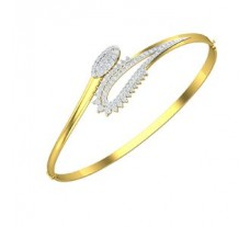 Natural Diamond Bracelet 0.95 CT / 15.15 gm Gold