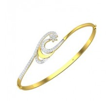 Natural Diamond Bracelet 0.68 CT / 14.80 gm Gold