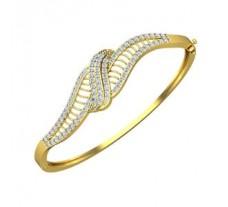 Natural Diamond Bracelet 1.21 CT / 13.75 gm Gold