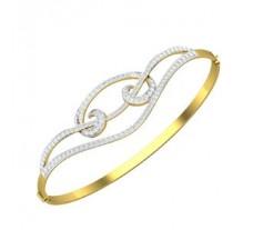 Natural Diamond Bracelet 1.07CT / 16.83 gm Gold