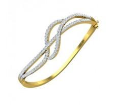 Natural Diamond Bracelet 2.09 CT / 14.19 gm Gold