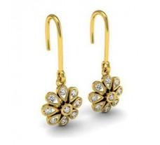 Diamond Designer Earrings 0.27 CT / 2.75 gm Gold