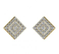 Natural Diamond Earrings 0.97 CT / 4.80 gm Gold