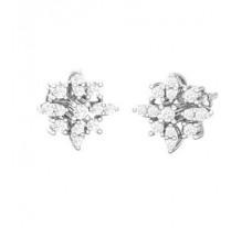 Diamond Earrings 0.59 CT / 3.49 gm Gold