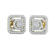 Diamond Earrings 1.02 CT / 5.13 gm Gold