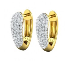 Natural Diamond Earring 0.44 CT / 6.00 gm Gold